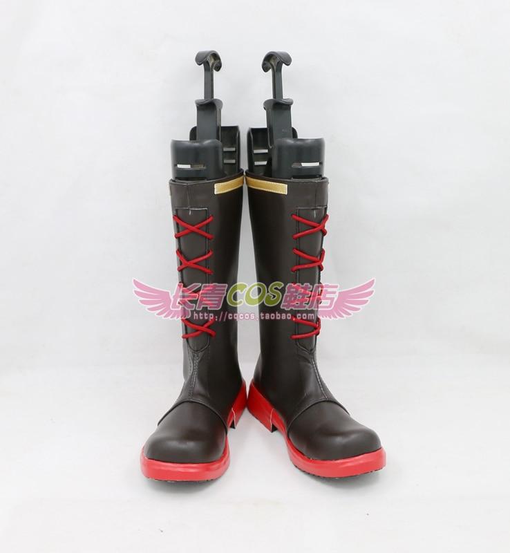 HONGKAI IMPACT 3 Theresa Apocalypse Cosplay Shoes Boots Custom Made 6616