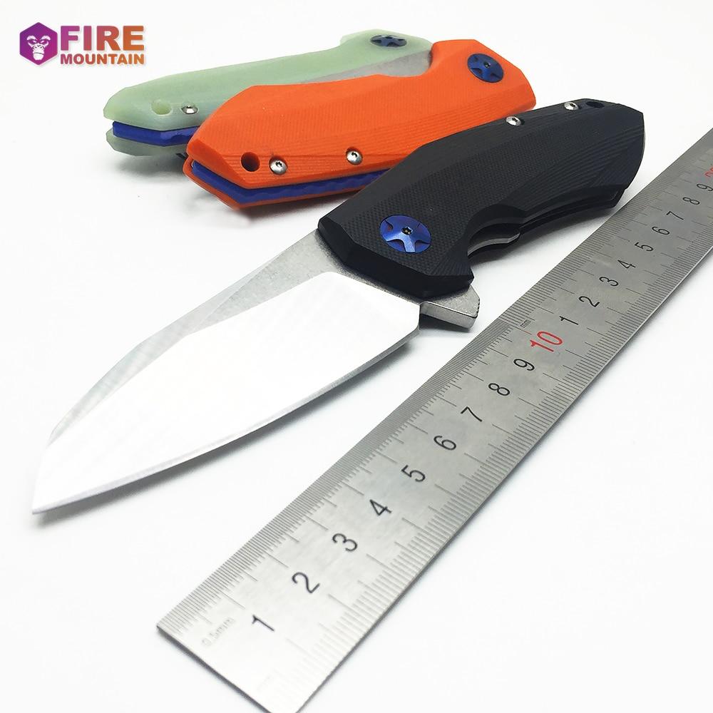 BMT 0456 Taktinis sulankstomas peilio peilis D2 peiliukas G10 - Rankiniai įrankiai - Nuotrauka 4