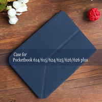Case For Pocketbook 614 624 626 640 PU Leathe Case With Stand Function Screen Protective Film