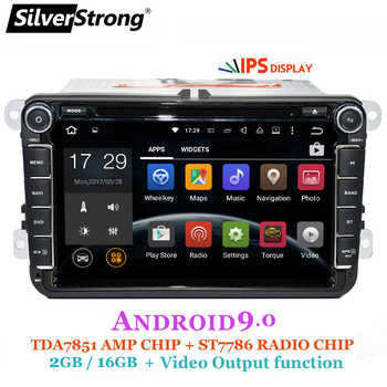 SilverStrong 2Din IPS ANDROID9.0 Car DVD for VW Android for Volkswagen for Passat for Golf for Polo/Octavia radio for Skoda 801 - DISCOUNT ITEM  39% OFF All Category