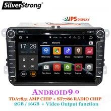 SilverStrong 2Din IPS ANDROID9.0 DVD Dell'automobile per il VW Android per Volkswagen Passat per per il Golf per Polo/Octavia radio per Skoda 801