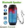 Eletrônico De Áudio Suporte NFC Bluetooth Speaker LED luzes de Pulso Portátil Sem Fio LEVOU Colorido 360 Cartão TF Ao Ar Livre