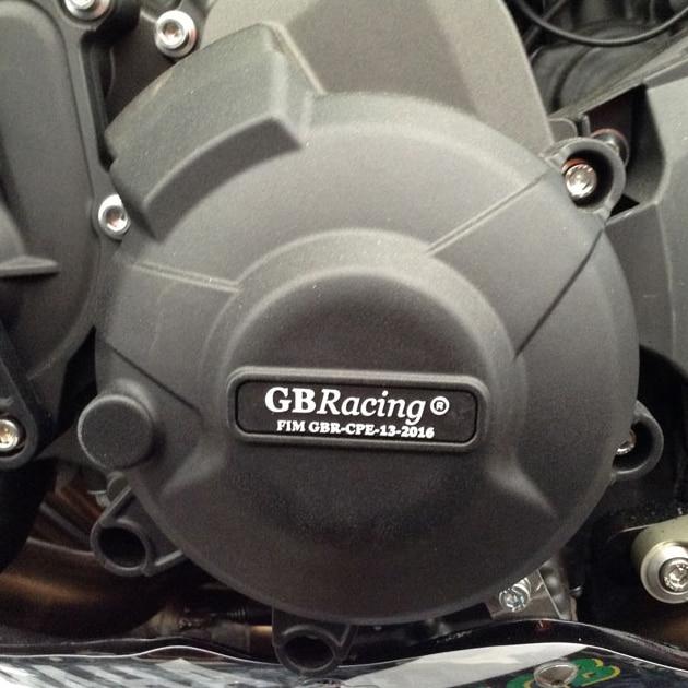 Motos Moteur couverture Protection cas pour cas GO Racing Pour YAMAHA MT09 FZ09 2014-2019 Moteur CoversProtectors - 2