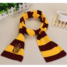 Harry Potter Scarves Gryffindor Slytherin Hufflepuff Ravenclaw Scarves Cosplay Costumes Halloween Gift Hermione Scarf for gift