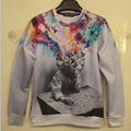 Hip-hop fashion High quality men /boy 3D Hoodies Magical wisdom mind printed women sweatshirt top