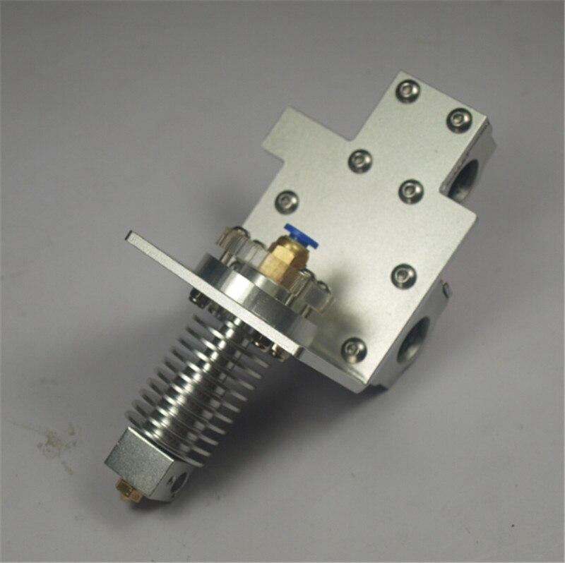 Reprap Prusa i3 X axis bowden alimentation hotend + métal kit de chariot pour bricolage imprimante 3D tout métal trou Distance: 45mm