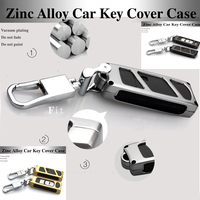 3 Color Metal Remote Protection Control Shell Car Key Case Chains Key Bag For Mazda CX