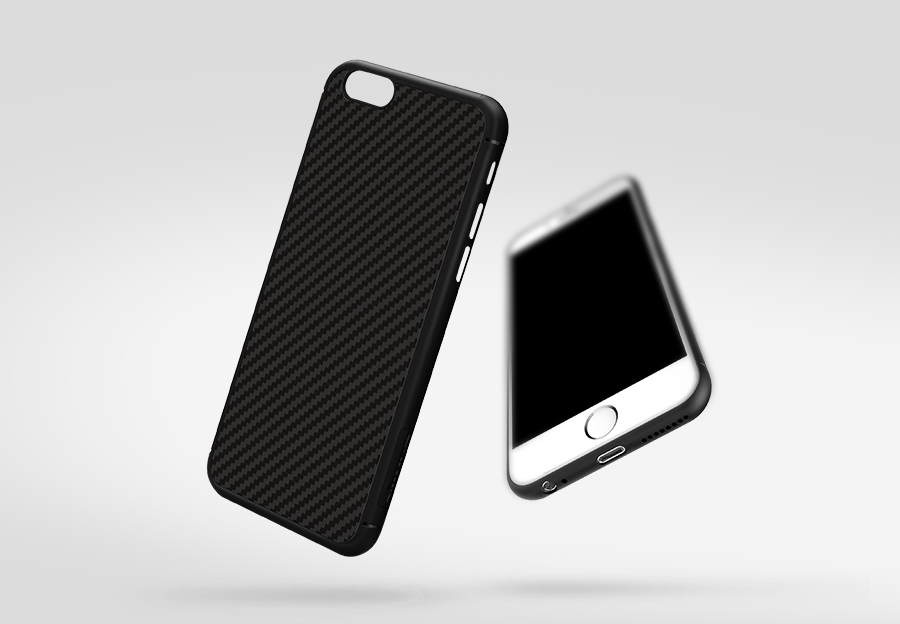 Nillkin Carbon Fiber Phone Bag Case For iphone6 Synthetic fiber Back Cover Case For apple iphone