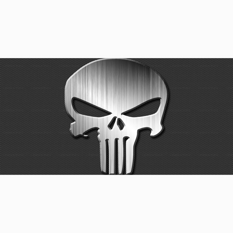 The Punisher Beach Towel