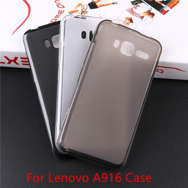 Lenovo A916 Case Matte Finish Soft TPU Cover Case For Lenovo A916 A 916 Cover Silicone Rubber Case