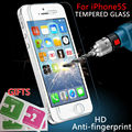 For iPhone 5s glass 0.26 mm on the for iphone 5s 7 tempered glass screen protection film for iphone 5/5s glass screen protector