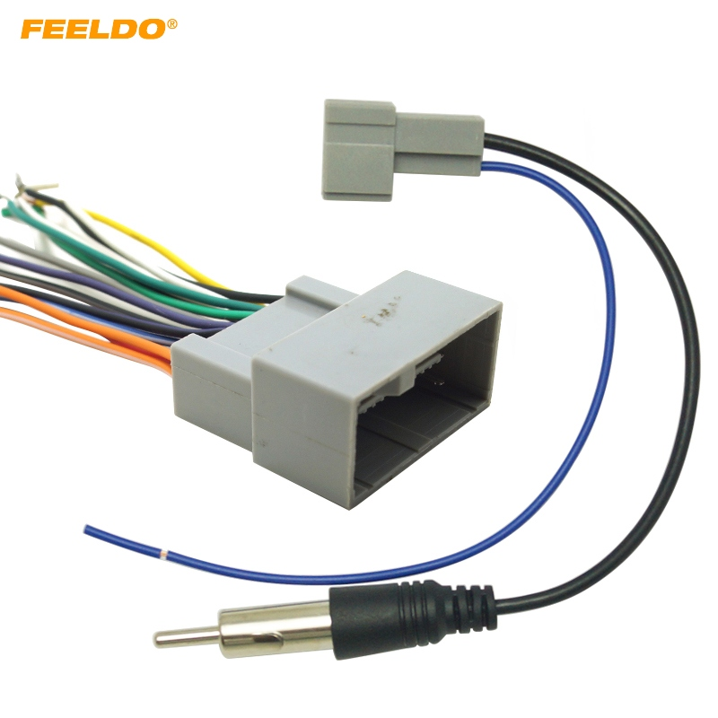 Feeldo 5set Car Radio Audio Stereo Amplifier Interface