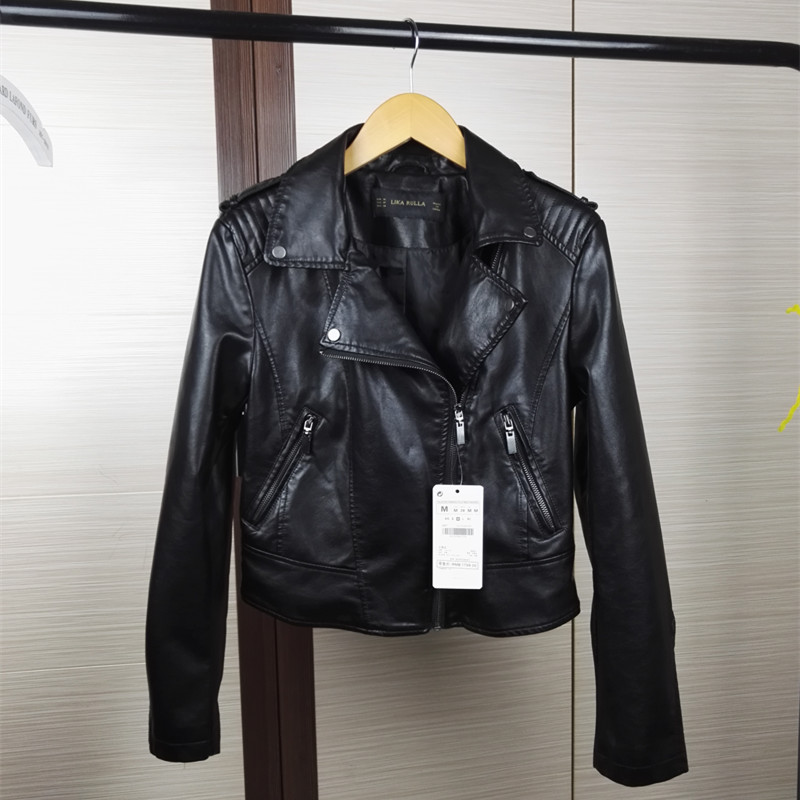 Womens Designer Leather Jacket - Jacket