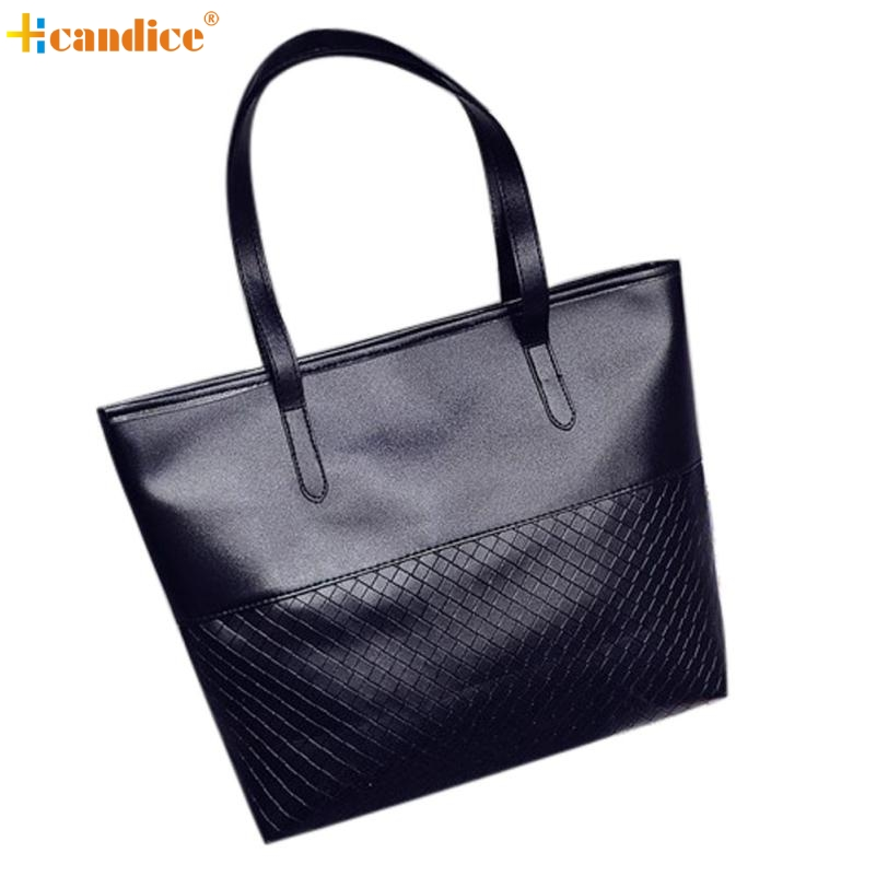 Naivety New Women Shoulder Tote Satchel Large Bag Lady Fashion Patchwork Purse Handbag S61222 drop shipping naivety new fashion women tassel clutch purse bag pu leather handbag evening party satchel s61222 drop shipping