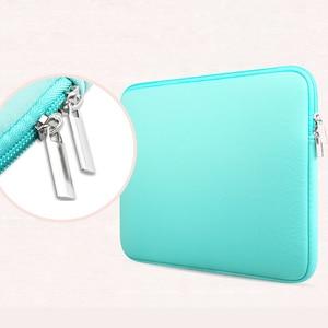Image 4 - Чехол на молнии для ноутбука Macbook AIR PRO Retina 11 12 13 14 15 13,3 15,4 15,6 дюйма, сумка для ноутбука Xiaomi Lenovo
