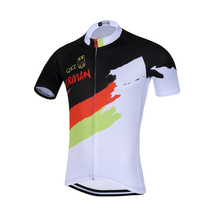 2017 QKI German National Short Sleeves Cycling Jersey Cycling Shirt  Maillot Cycling Clothing Wear Ropa Ciclismo