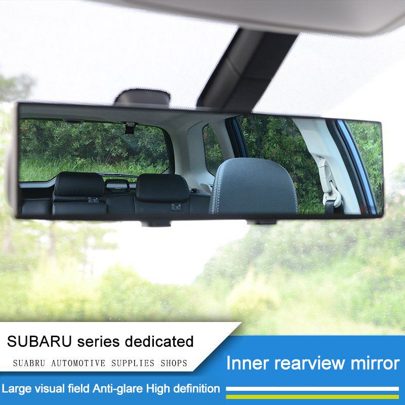 цена на QHCP HD Waterproof Wide Field Of Vision Car Inner Rearview Mirror Auto Make Up Mirror Fit For Subaru XV Outback Forester Legacy