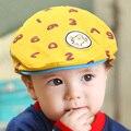 2017 nuevos niños del otoño boinas sombrero del bebé cap de dibujos animados niños y niñas marea