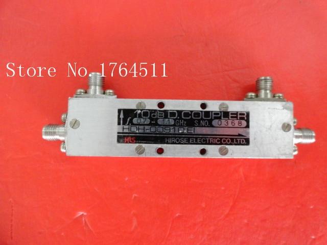 [BELLA] HRS HDH-00910EI 0.7-1.1GHz 10dB Directional Coupler SMA