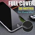 3D ПОЛНОЕ ПОКРЫТИЕ Из Закаленного Стекла для iPhone 6 6 s 7 3D полный Экран Закаленное Стекло 3D Touch Совместимы Для iPhone 6 s 7