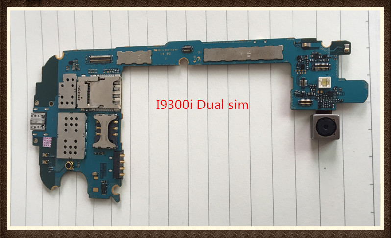100%Working~Unlock Original 16GB Motherboard For Galaxy SIII Neo+ version I9300i Dual sim Clean IMEI Free Shipping
