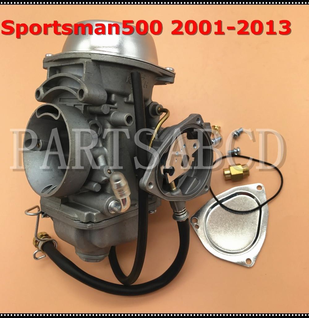 polari 500 carburetor installation diagram [ 1000 x 1030 Pixel ]