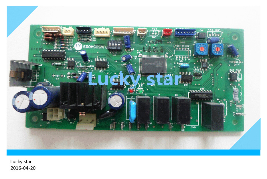 95% new for Air conditioning computer board circuit board PJA505A023HT PJA505A023 good working original good working for tcl air conditioning computer board used circuit board tcl32ggft808 kz