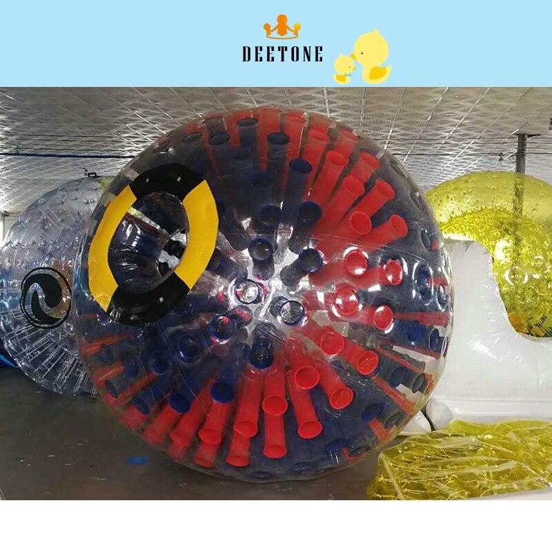 DEETONE 3 m Mix Blue Red Inflatable Bubble Soccer Ball 0.8PVC Bumper Ball Bubble Football Zorb Ball Air Soccer Ball