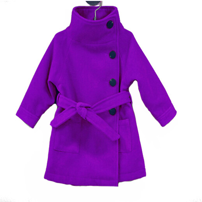 Aliexpress.com : Buy girls wool winter coats 2015 fashion high ...