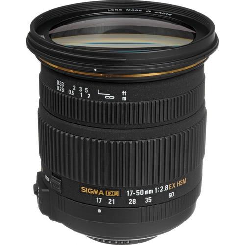 Sigma 17 50 Sigma 17 50mm f 2 8 EX DC OS HSM Lens for Nikon