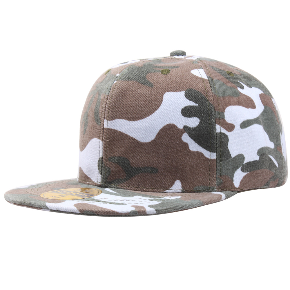 цена на Camo Snapback Caps 2016 Hip Hop Hats For Men Women Camouflage Baseball Cap New Style Hats Snap Back High Quality