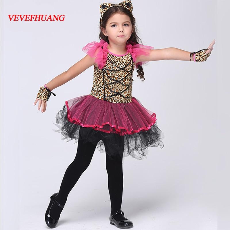 VEVEFHUANG Halloween kids fancy dress Cosplay clothing little red riding hood costume Children princess skirt Fairy maiden Dress