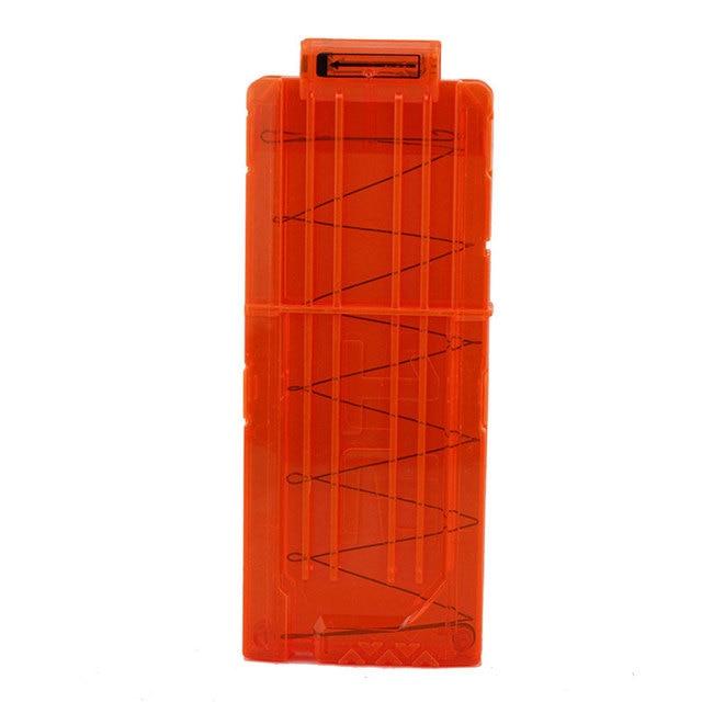 12 Soft Bullet Clip For Nerf Gun Toy Bullet Magazine Cartridge Dart Ammo  Clips For Toy