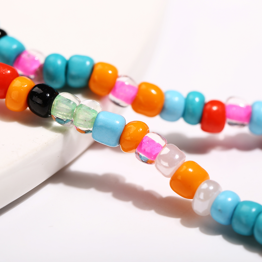 IF ME Bohemian Natural Sea Shell Beads Anklets for Women Coloful Bracelet On Leg Chain Anklet Summer Beach Foot Jewelry 2019 NEW 5