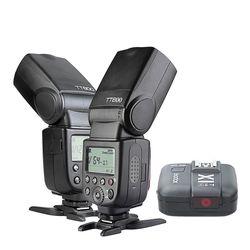 2pcs Godox TT600 2.4G Wireless Camera Flash+X1T-N Trigger  CD15