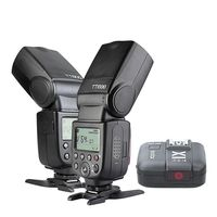 2pcs Godox TT600 2.4G Wireless Camera Flash+X1T N Trigger CD15