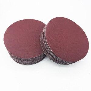 """Image 5 - Grit folha de lixa de areia 40ps 3 """"75mm 80mm, disco de lixa 320/400/600 disco de lixa para lixadeira/800/1000/1200/1500/2000"""
