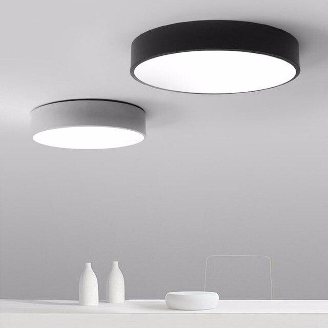 keuken plafond lampen eenvoudige ceilng licht inbouw led plafond verlichtingsarmaturen lampara de techo ronde oppervlak mount
