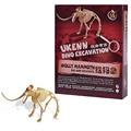 Sacarlo Dinosaurios Eacavation Ktis Wolly Mammoth Dinosaurios Esqueleto Modelo Animal Juguetes Educativos Glaciar Edad K7671