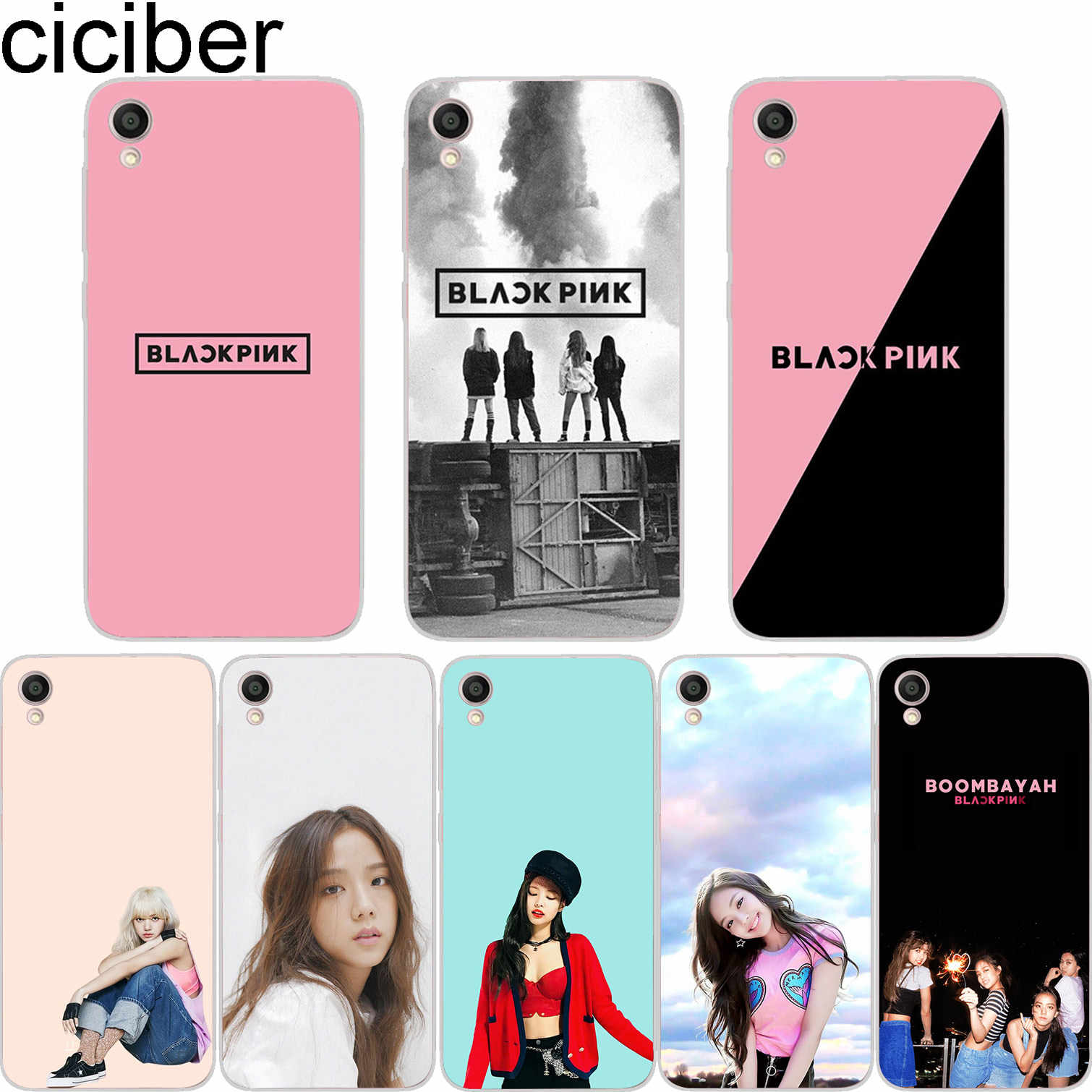 ciciber Black Pink For ASUS ZenFone 5 4 3 3S Max Pro Plus Laser Deluxe Selfie Z Q Lite Soft Cover Clear TPU Phones Cases Coque