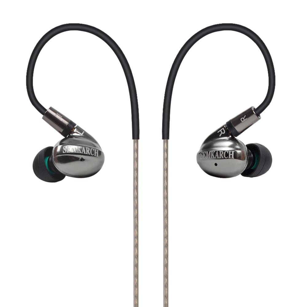 SEMKARCH SKC CNT1 dans l'oreille écouteur 10mm Nanotube de carbone (CNT) diaphragme unité haute dynamique HIFI écouteur écouteur casque avec MMCX-in Écouteurs et casques from Electronique    1