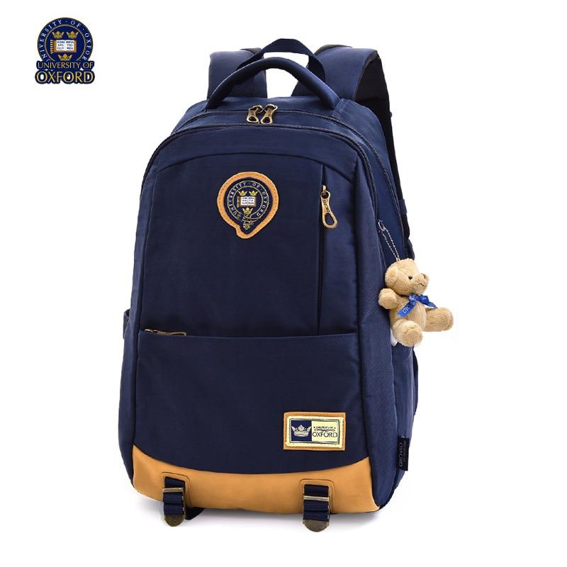 UNIVERSITY OF OXFORD children student books School bag backpack portfolio rucksack for Boys for class 4