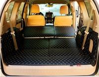 Free shipping! Special car trunk mats for Toyota Land Cruiser Prado 150 7 seats 2019-2010 durable boot carpets cargo liner mat