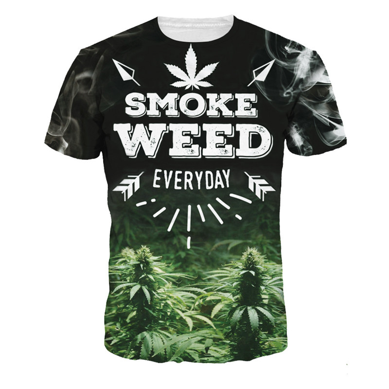 Letni Mężczyzna T Koszula Detaliczna Śmieszne T-shirty 3D - Odzież męska - Zdjęcie 6