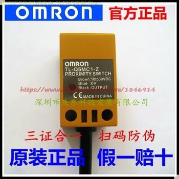 Free shipping     OMRON (sensor) proximity switch TL-Q5MC1-Z 100% authentic original omron capacitive proximity switch e2k x8me1 2m 12 24vdc