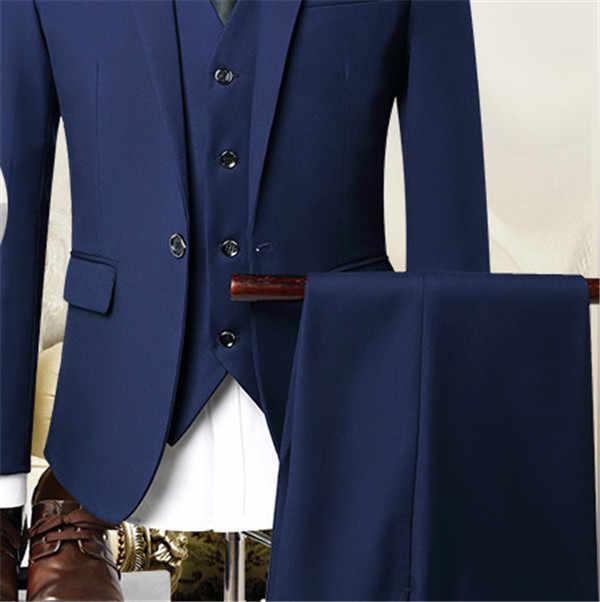 最新コートパンツデザインベージュ男性のスーツウエディングタキシードスリムフィット 3 ピース新郎の結婚式のスーツカスタムブレザー terno Masuclino