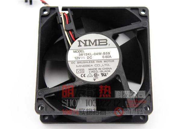 9 cm 12 V 0.6A 3615KL-04W-B59 do 9038 grande fã volume de ar