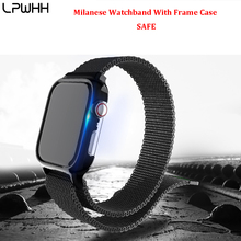 Milanese Watchband Loop Bracelet For Apple Watch 44mm Stainless Steel Band For Iwatch Series 1/2/3 42mm 38mm Strap Series 4 40mm все цены