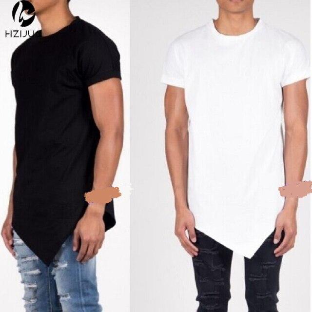 Disegno irregolare degli uomini delle magliette degli uomini Hip hop di  strada 3e341386aab1