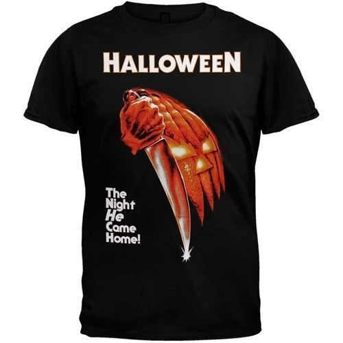 HALLOWEEN Movie Poster T-Shirt New OFFICIALLY LICENSED Michael Myers Tee S-3XL